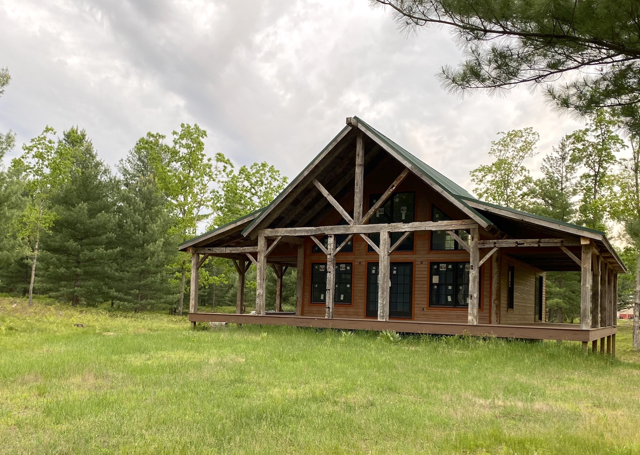 Cabin in state of renovation, like the HIPAA Privacy Rule modifications